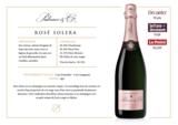 Champagne Palmer Rosé Solera_