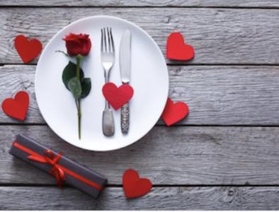 Valentijnsmenu 4 gangen